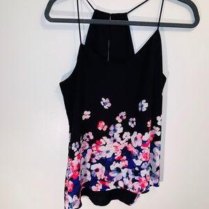 Camisole Medium Black Floral